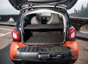 Smart ForTwo багажное отделение