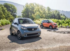 Smart ForTwo 2015 года