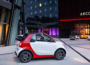 Кабриолет Smart ForTwo 3