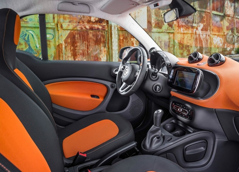 Smart ForTwo 3 салон
