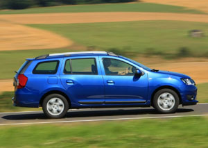 Dacia Logan MCV синий