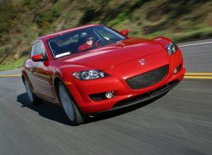 Вид спереди Mazda RX-8