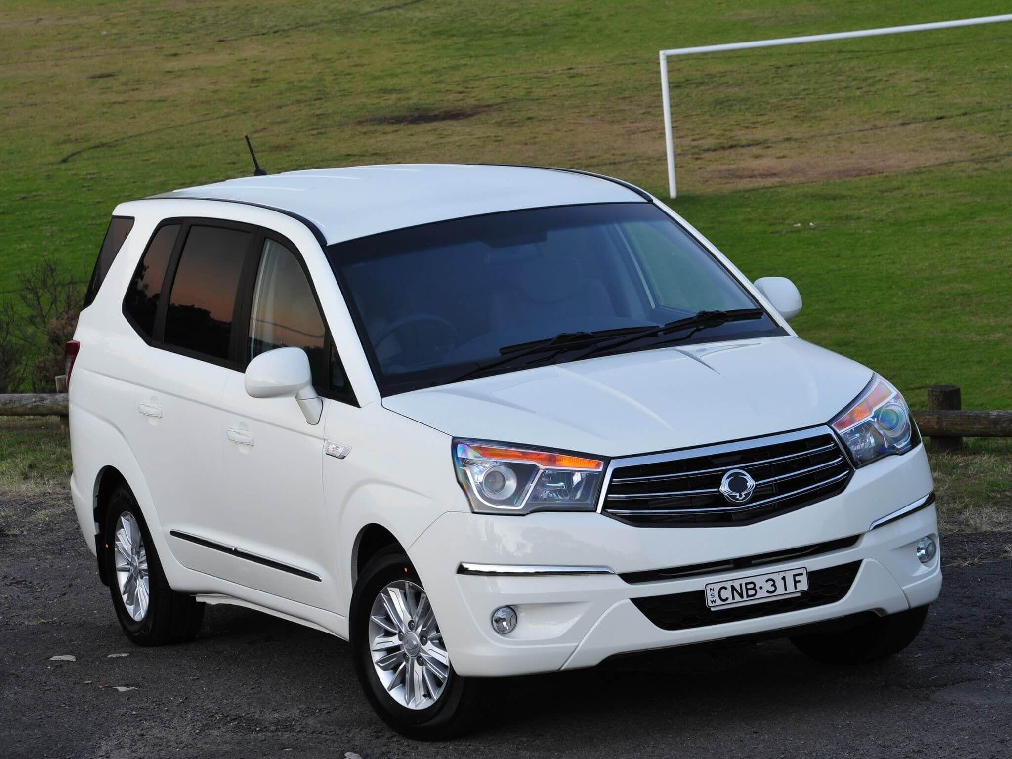Автомобили SsangYong весь модельный ряд цены отзывы