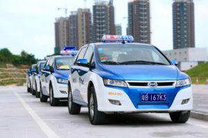 Полицейский BYD Е6