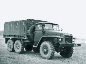 Автомобиль Урал-375Д