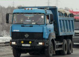 Вид спереди Ural-63685