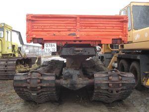 Вид сзади Урал-5920