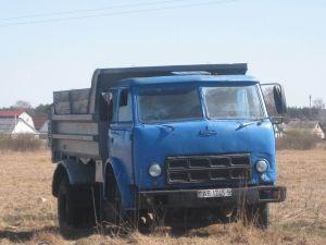 Вид спереди МАЗ-503
