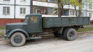 Вид сбоку МАЗ-200