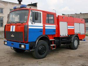 Пожарка МАЗ-5337