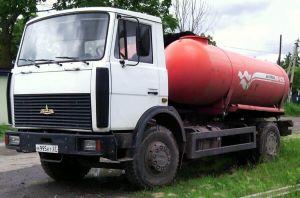 Топливозаправщик МАЗ-5337