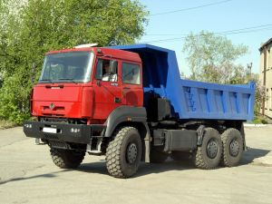 Самосвал Урал-6370