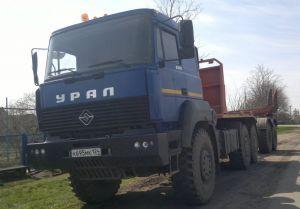 Вид спереди Ural-6370