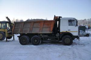 Вид сбоку МАЗ-5516