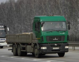 Фото грузовика МАЗ-6312