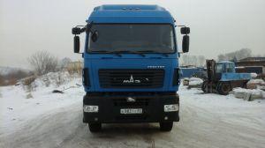 Вид спереди МАЗ-6430
