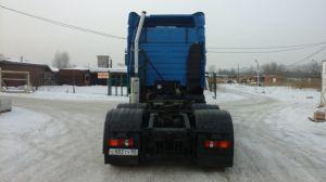 Вид сзади МАЗ-6430