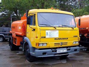 Автозаправщик КамАЗ-4308