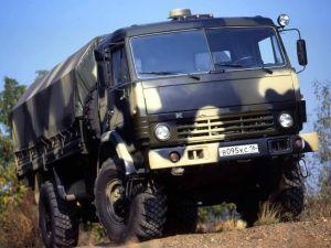 Вид спереди КамАЗ-4326