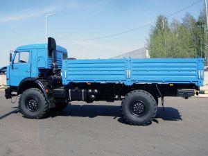 Вид сбоку КамАЗ-4326