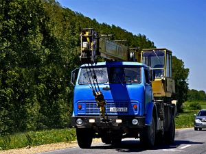МАЗ-5334 автокран