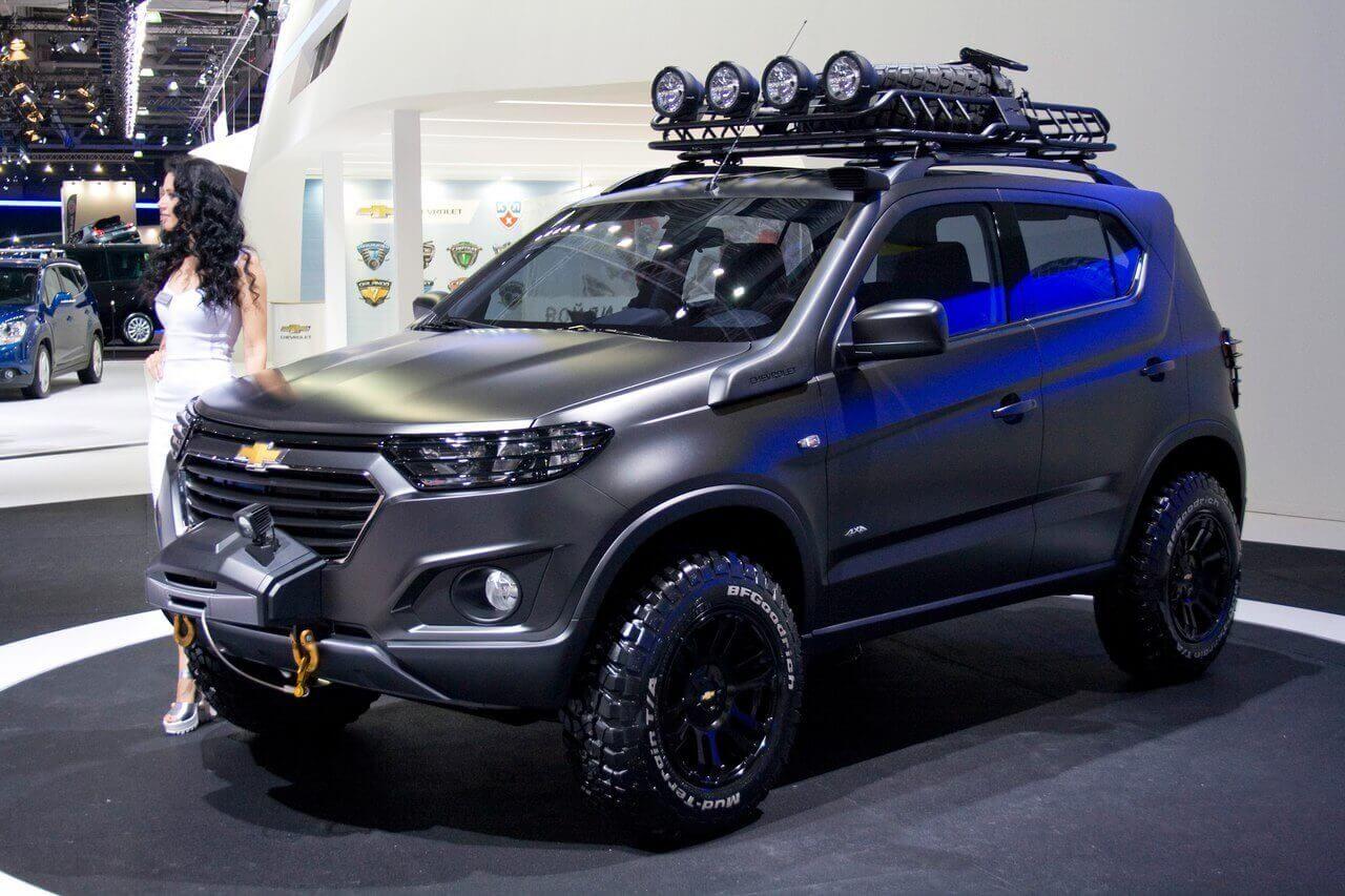 Новая Chevrolet Niva 2018 года