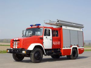 Фото пожарной машины ZIL-4331