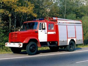 Пажарная машина ЗИЛ-4331