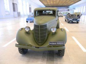 ГАЗ-61 вид спереди