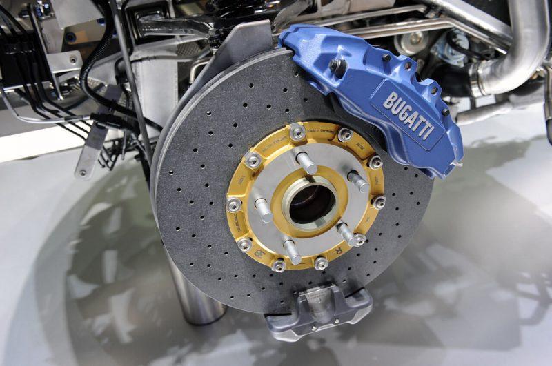 Bugatti Veyron тормозная система