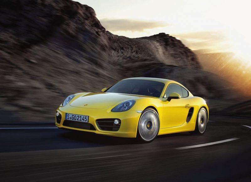 Porsche Cayman фото авто