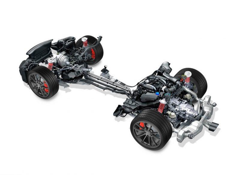 Porsche Cayman трансмиссия