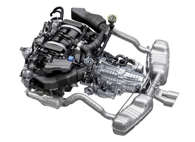 Porsche Cayman двигатель