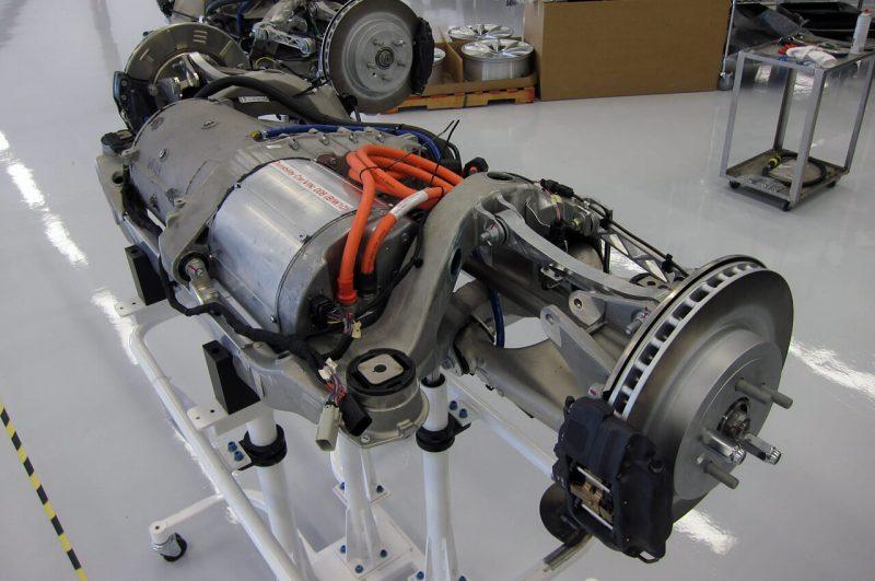 Двигатель Тесла Модель Х