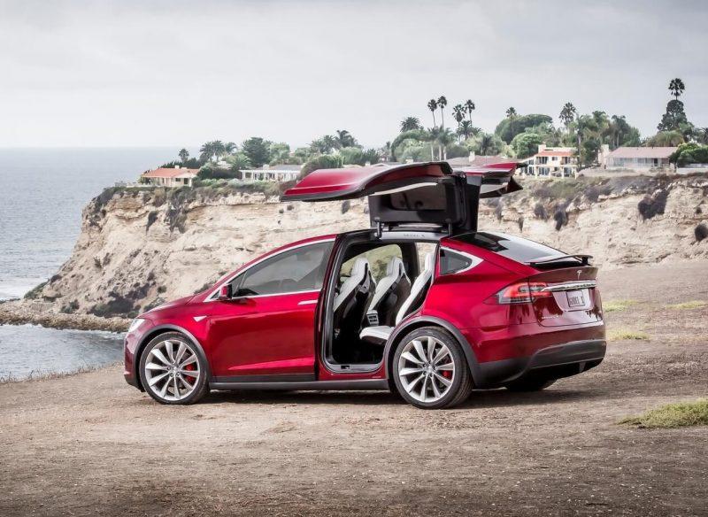 Новый Tesla Model X
