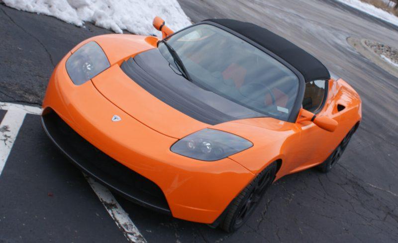 Фото Tesla Roadster Sport