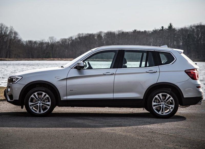 BMW X3 фото кроссовера