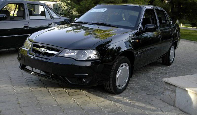 Новое авто Daewoo Nexia
