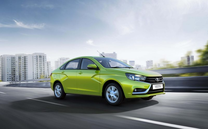 Photo of the new Lada Vesta