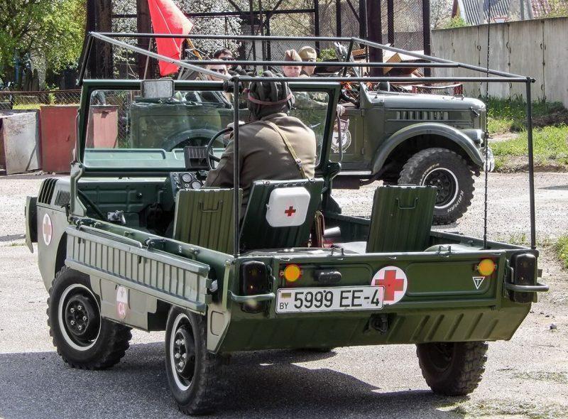 Вид сзади ЛуАЗ-967М