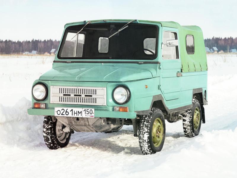 Авто ЛуАЗ-969 1980 года