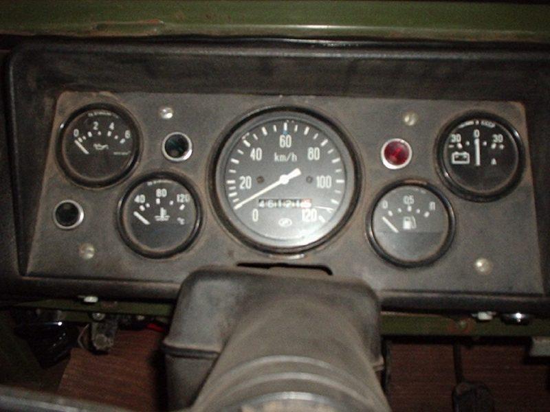 ЛуАЗ 969М приборная панель