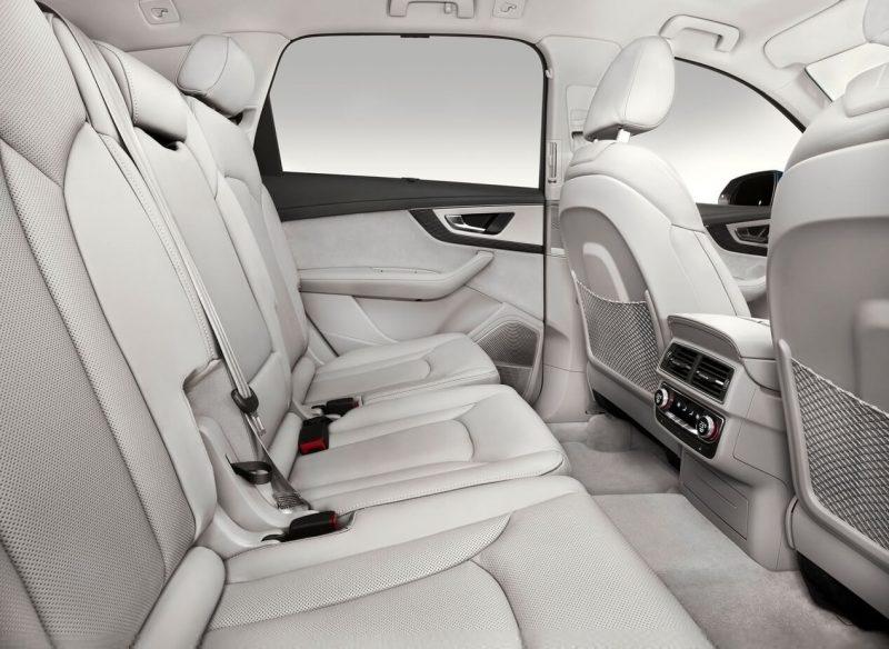 Audi Q7 интерьер