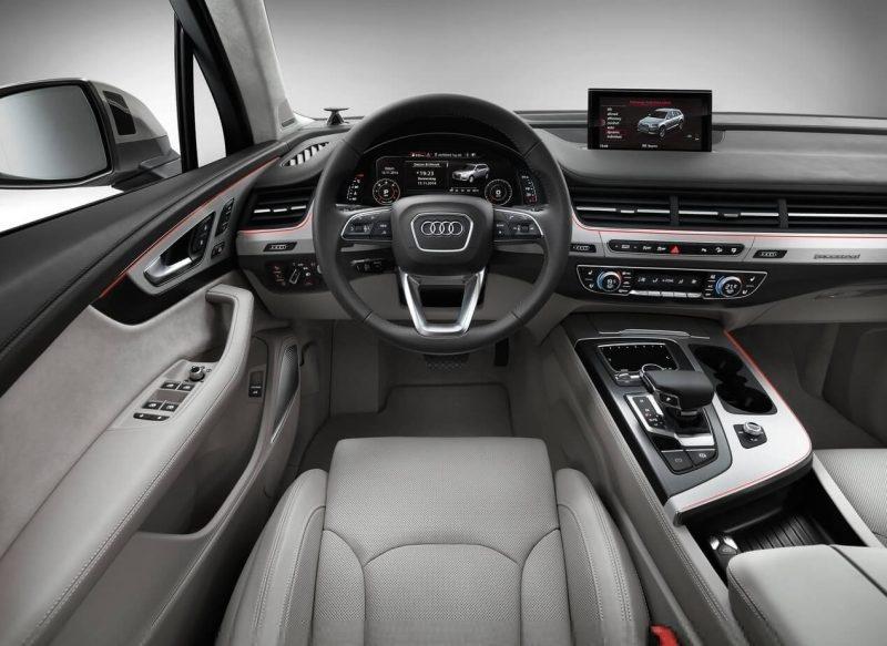 Audi Q7 передняя панель