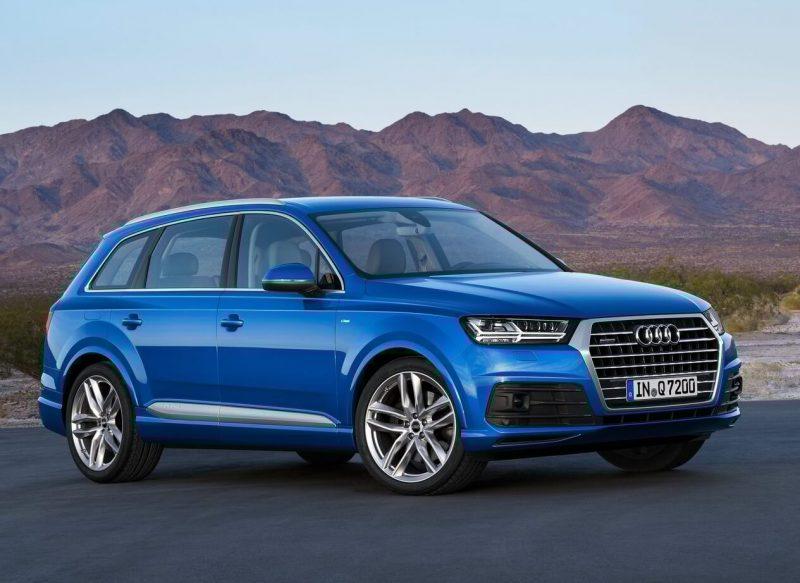 Дизайн Audi Q7