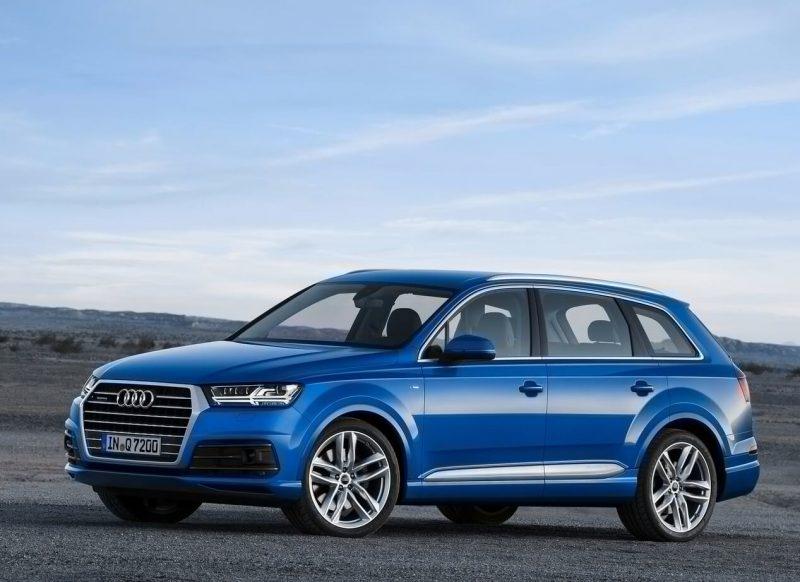 Новый дизайн Audi Q7