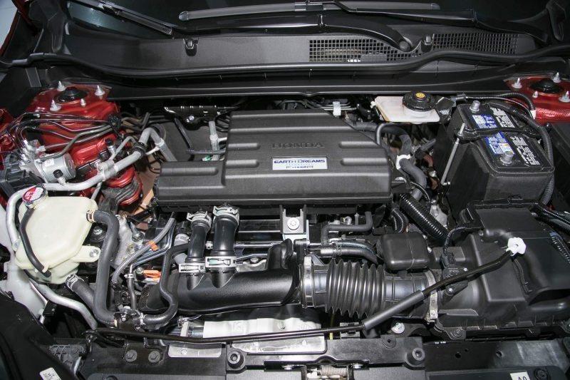 2017 Honda CR-V силовой агрегат
