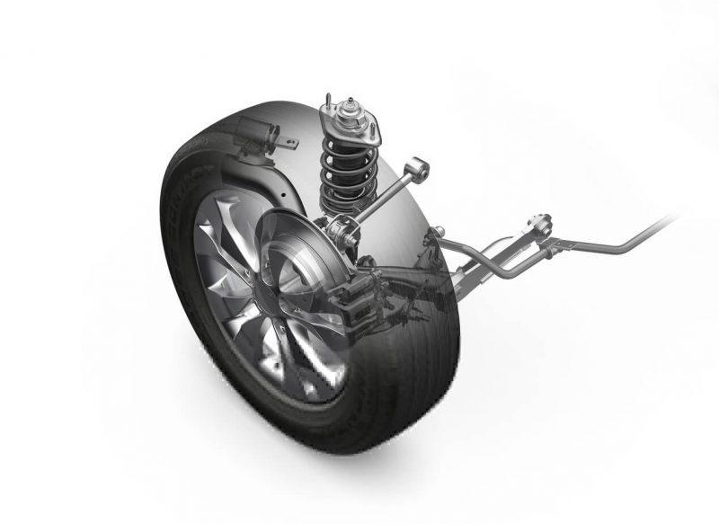 Honda CR-V задняя подвеска