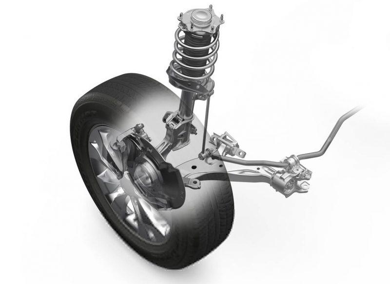Honda CR-V передняя подвеска