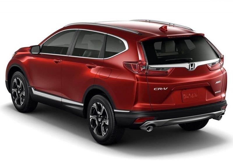 Новая Honda-CR-V-2017